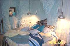 cave houses bedroom
