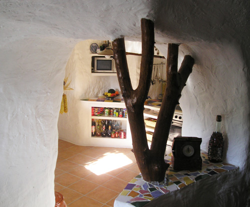 a typical cave room