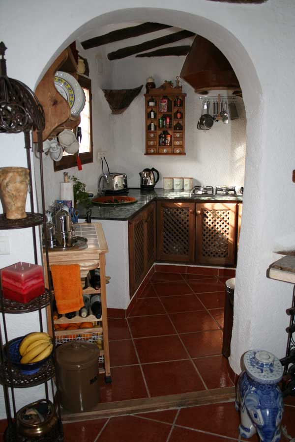 cave houses kitchen