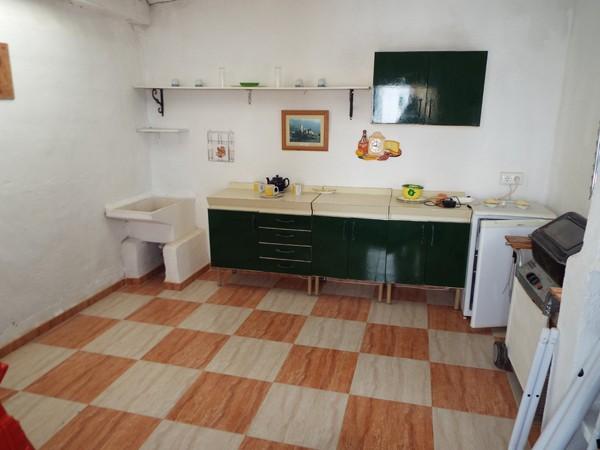 Garage kitchen