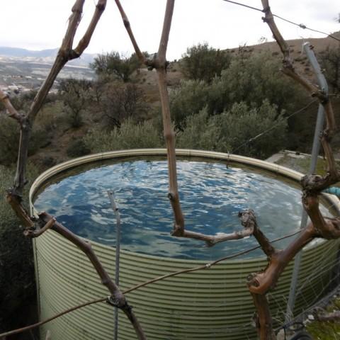 Water deposit/dip pool
