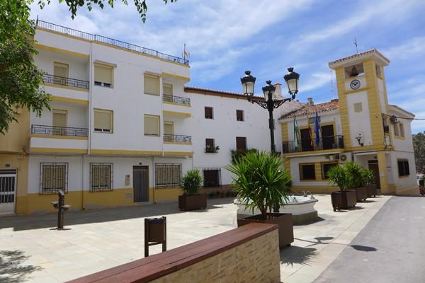 Hinojares plaza