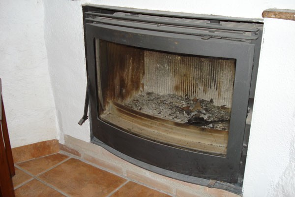 Top of the range fireplace