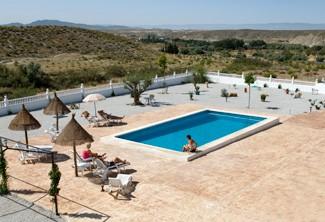 Heated swimmimg pool