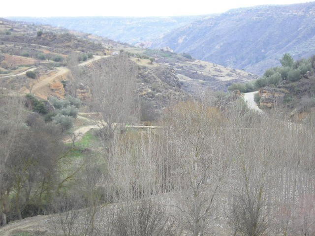 View of valley