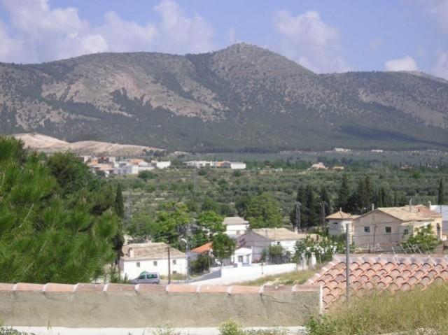 View od Sierra de Huescar